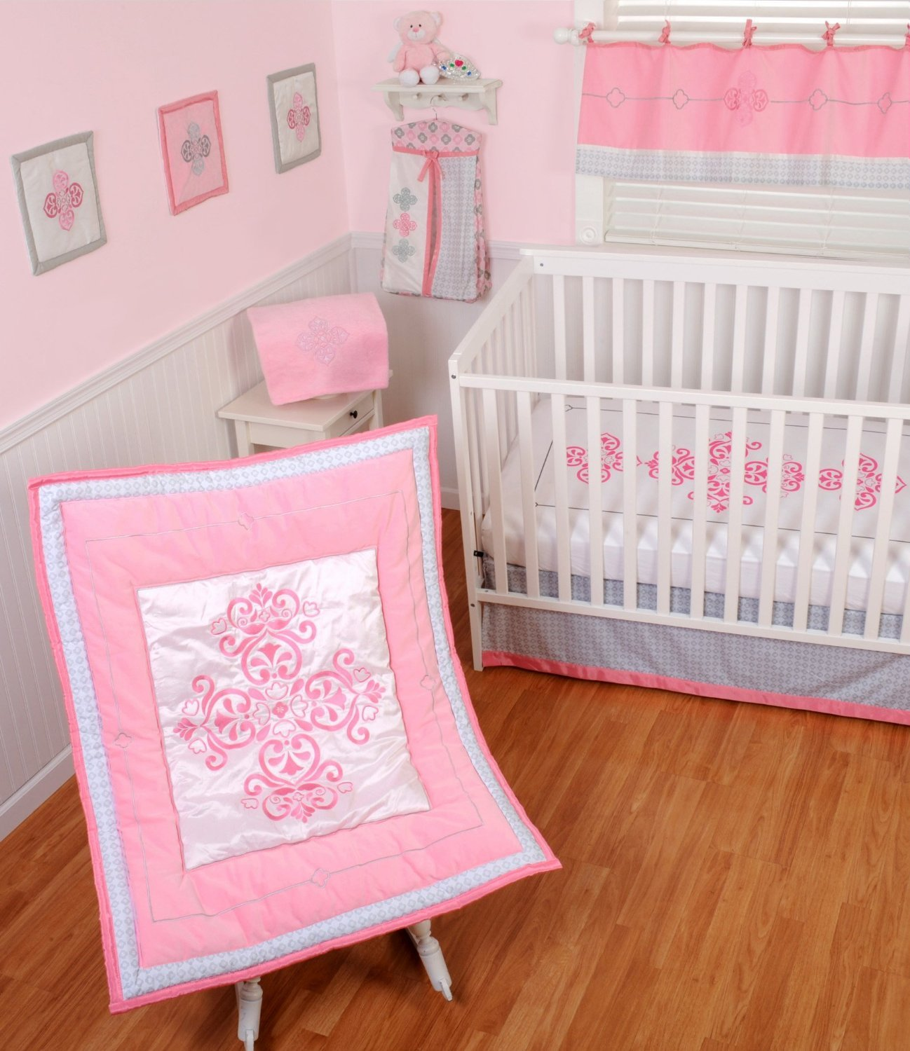 Sumersault 4 Piece Crib Bedding Set, Princess by Sumersault [並行輸入品]   B00MH80D0K