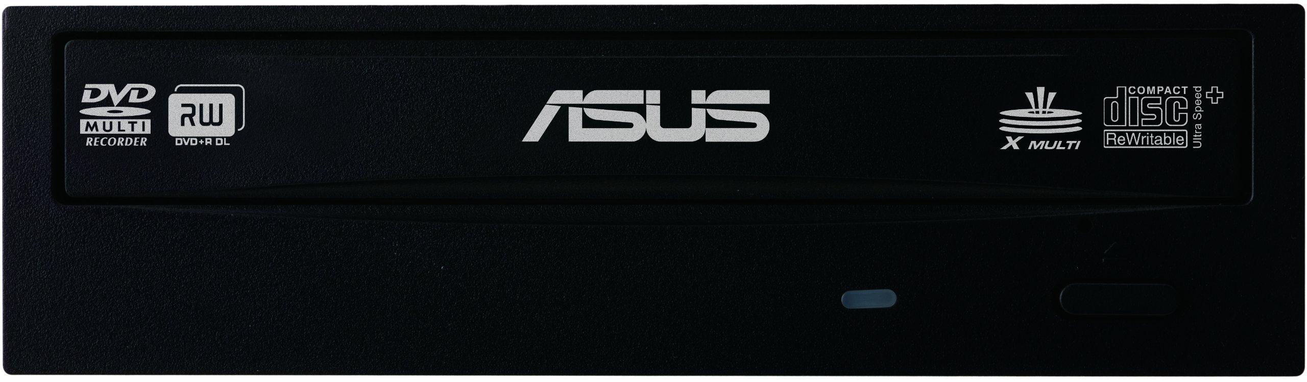 ASUS Internal 24x DVD Rewritable SATA Optical Drive DRW-24B1ST Retail (Black)