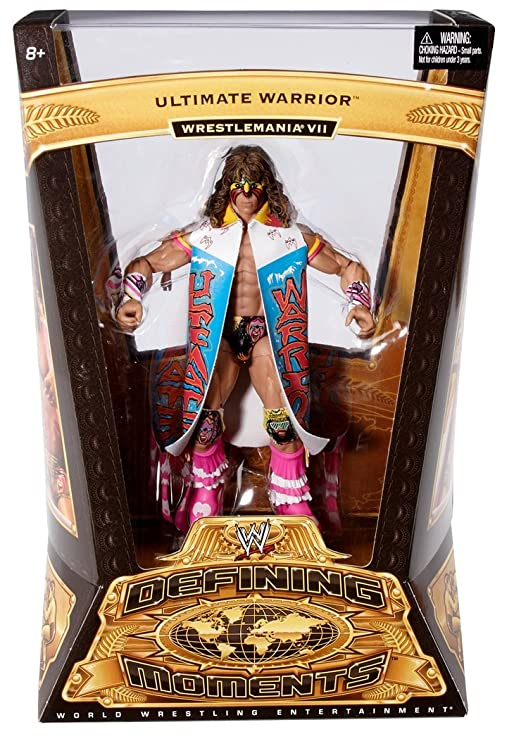 New WWE Ultimate Warrior Action Figure Defining Moments