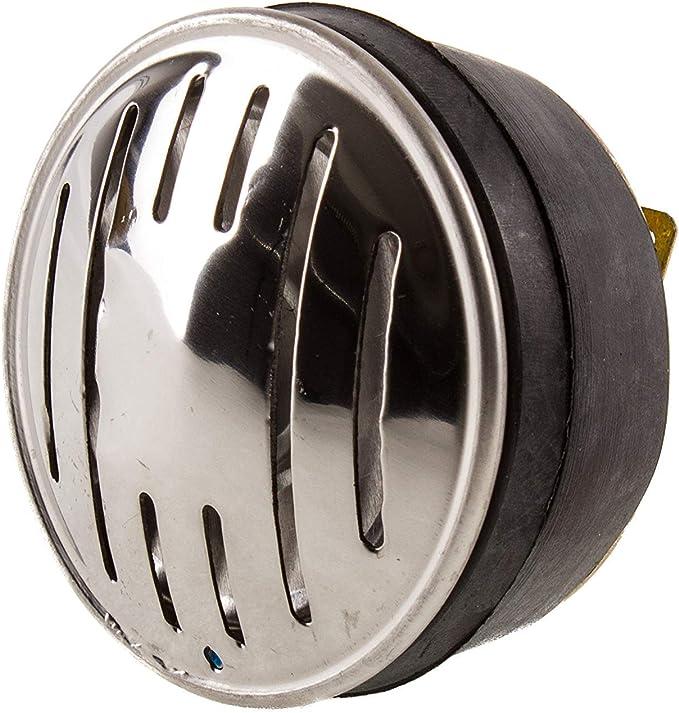 Hupe Signalhorn Für Gleichstrom 6v Und 12v Edelstahlblende Simson Schwalbe Auto