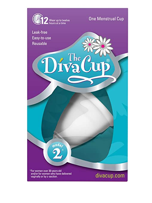The DivaCup Model 2 Menstrual Cup travel product recommended by Janelle Lopez on Lifney.