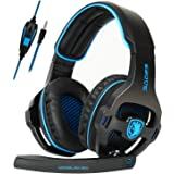 SADES Gaming Headset for Xbox One,PS4, PS5 PC Headphones with Microphone Mic for Nintendo Switch Playstation Computer…