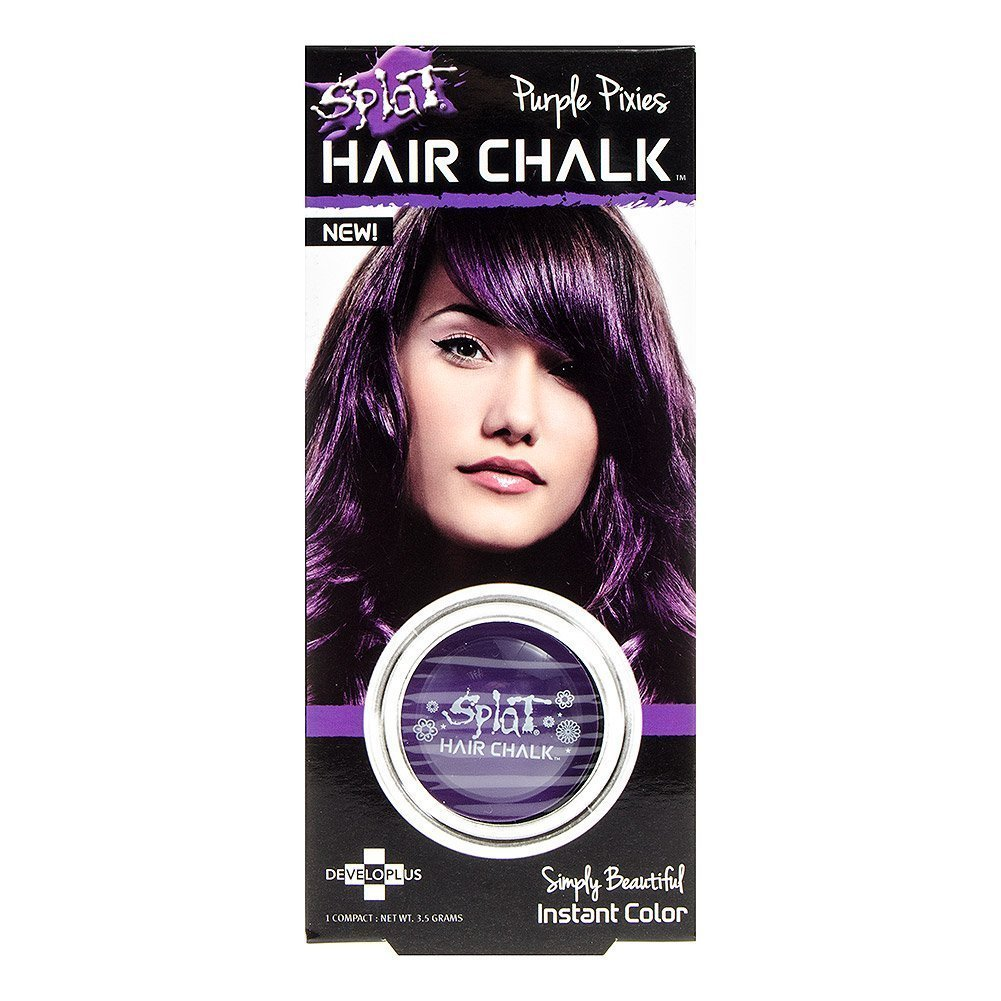 Amazon Splat Hair Chalk Purple Pixies Beauty