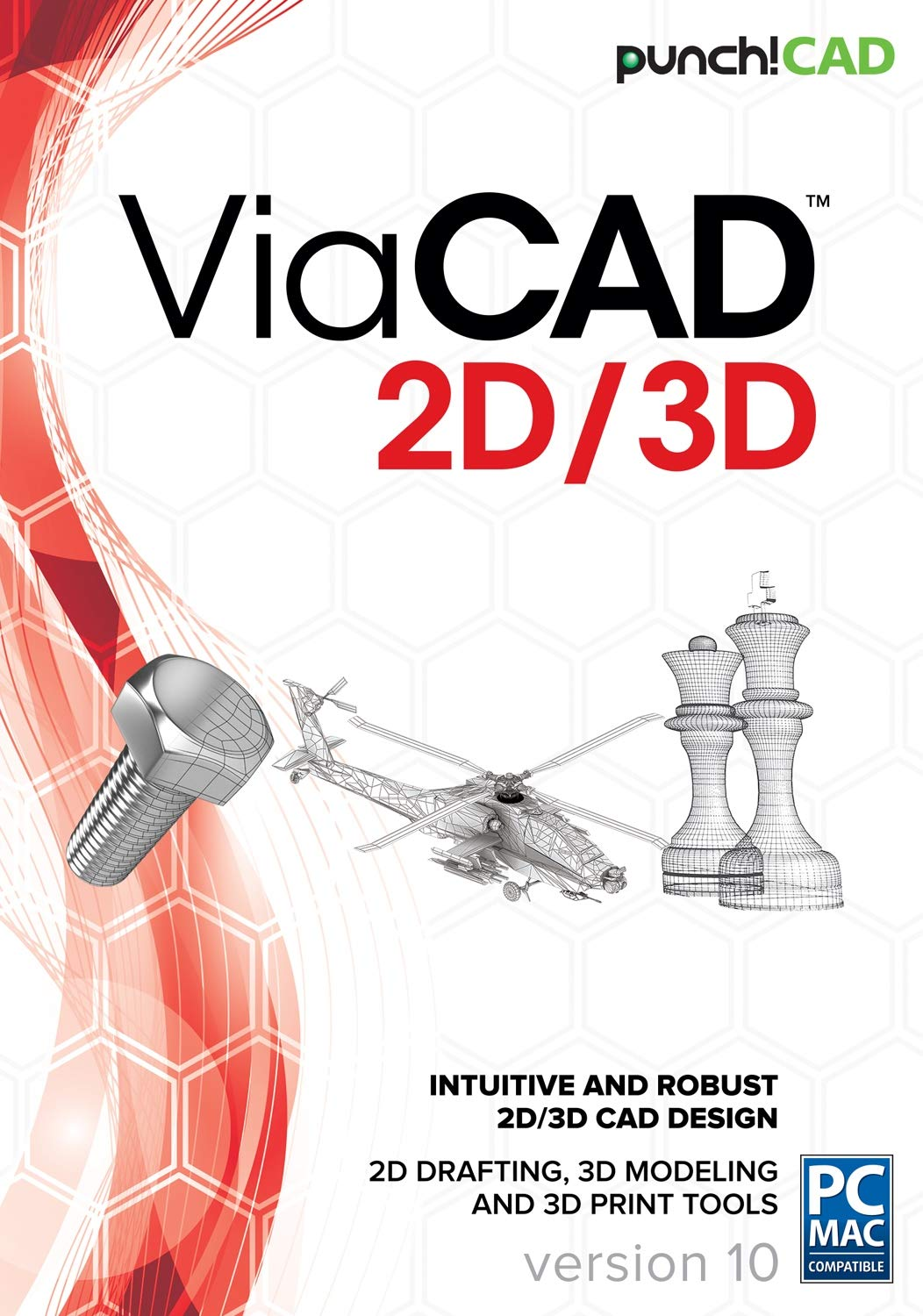 Punch! ViaCAD 2D/3D v10 by Encore