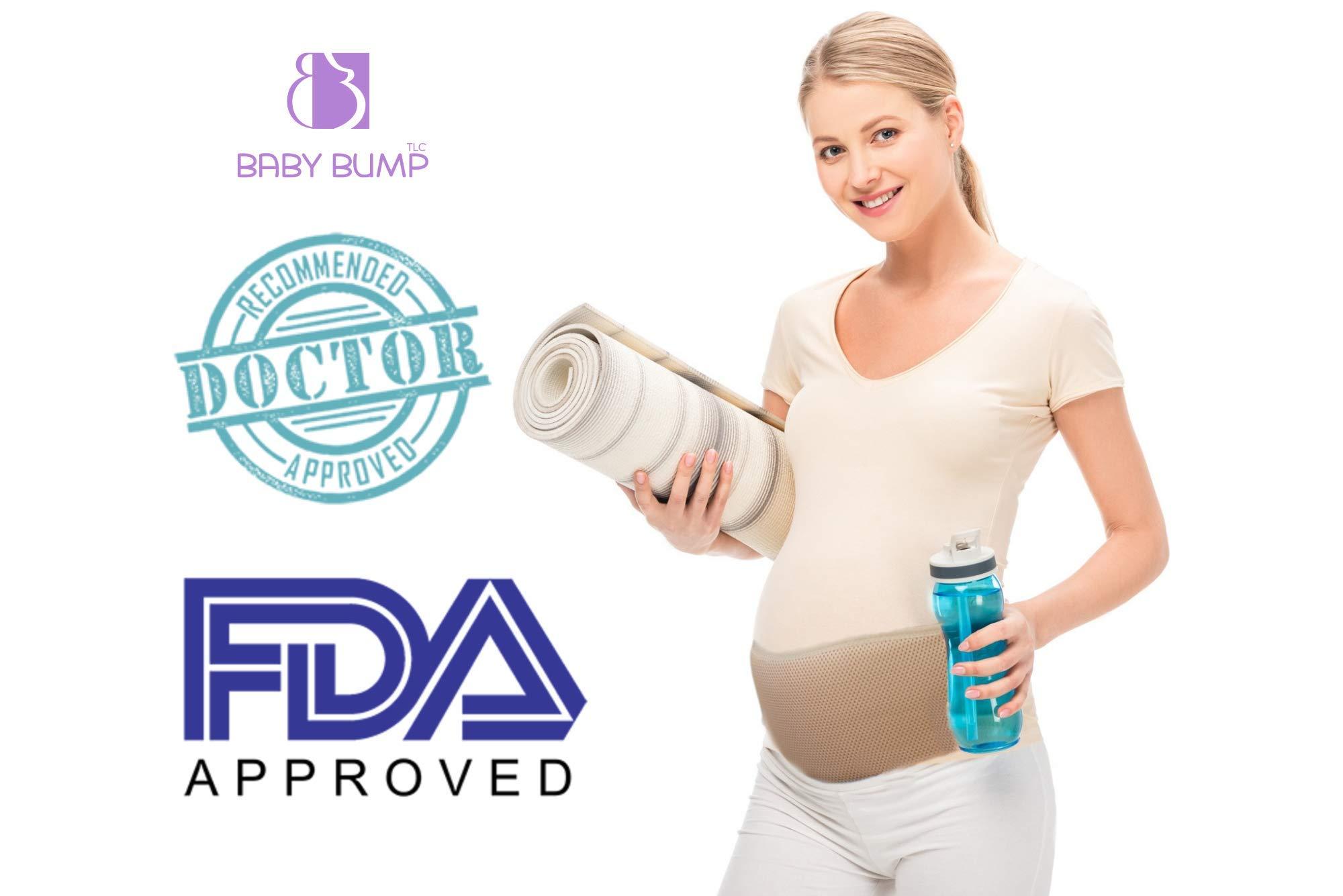 Baby Bump TLC Maternity Belt Abdominal Belly Band