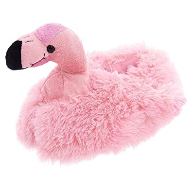 5c4207d3e091 Wishpets Adult M Pink Flamingo Slippers