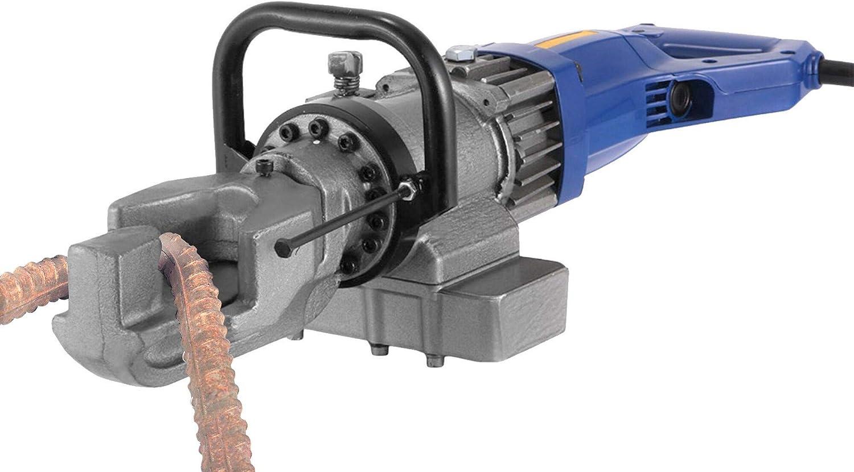 Huanyu Máquina dobladora de mano eléctrica hidráulica portátil del doblador de barras Cortadora hidráulica del perno 5/8 110V / 220V EXPRB-16 (16MM)