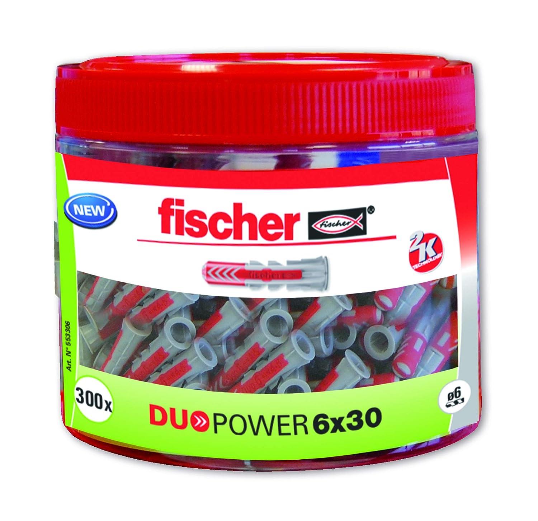 8x40 Gris Y Rojo Fischer 553307 Taco nylon