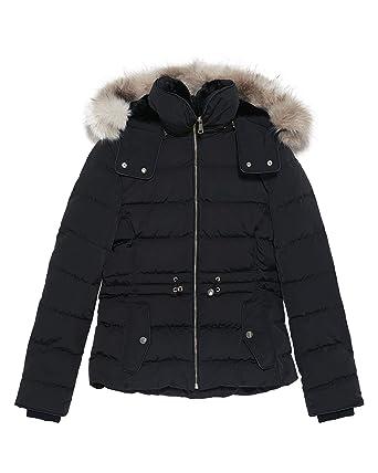 84e1419706 Amazon.com: Zara Women Hooded Down Puffer Jacket 0518/047 Black ...