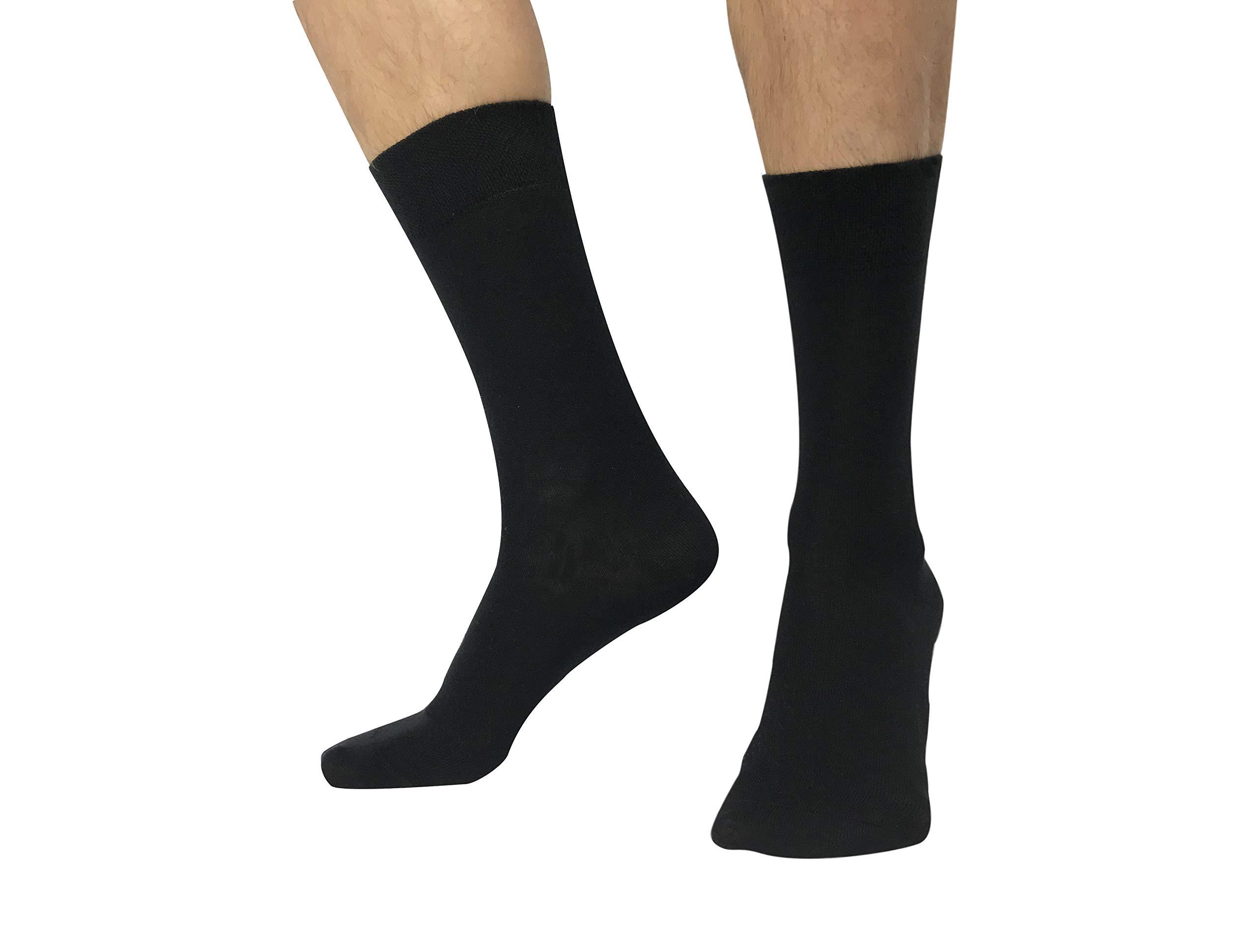 Amadeos Calcetines hombres algodon peinado de alta calidad - Tallas 36 a 46 product image