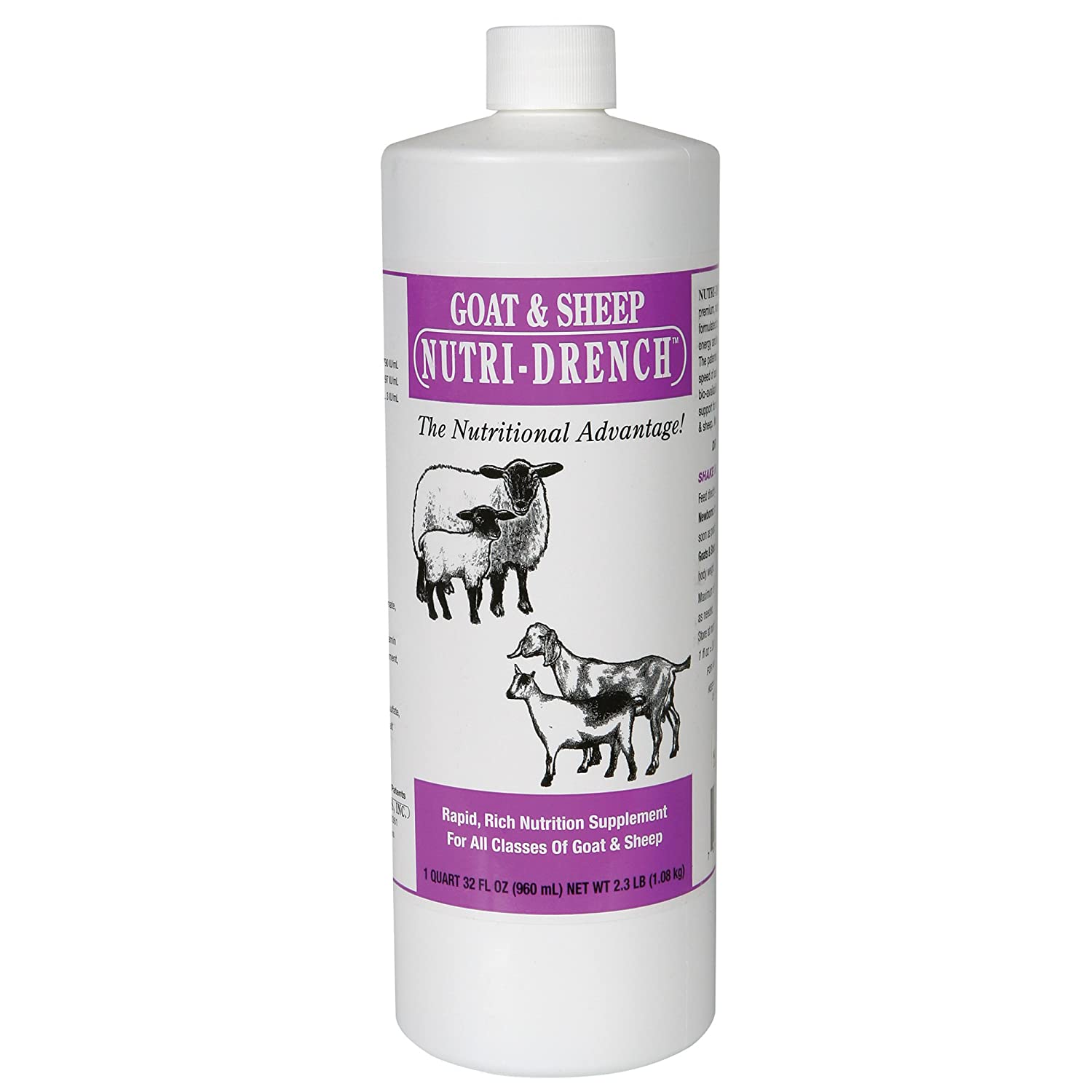 Nutri-Drench Goat& Sheep Solution Bradley Caldwell 009001