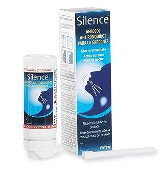 Silence tratamiento antirronquidos para dormir. No roncar. Solución eficaz, rápida y duradera. Mejora la respiración. Fácil y cómodo de usar.