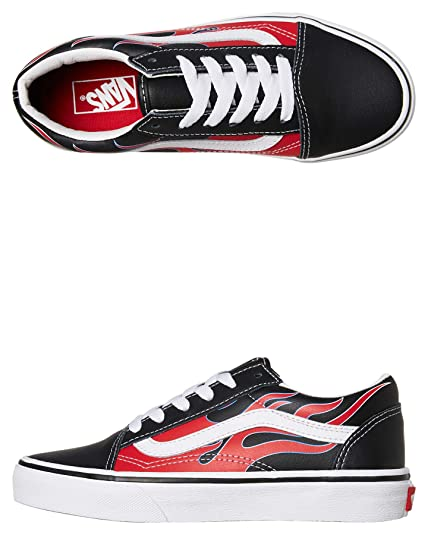 vans red chaussures amazon
