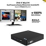KODLIX Z83-V MINI PC Desktop x5-Z8350 Intel Atom 2GB/32GB 1000M/LAN 2.4/5.8G WiFi Bluetooth 4.0, Dual Frequency Display Support Windows 10