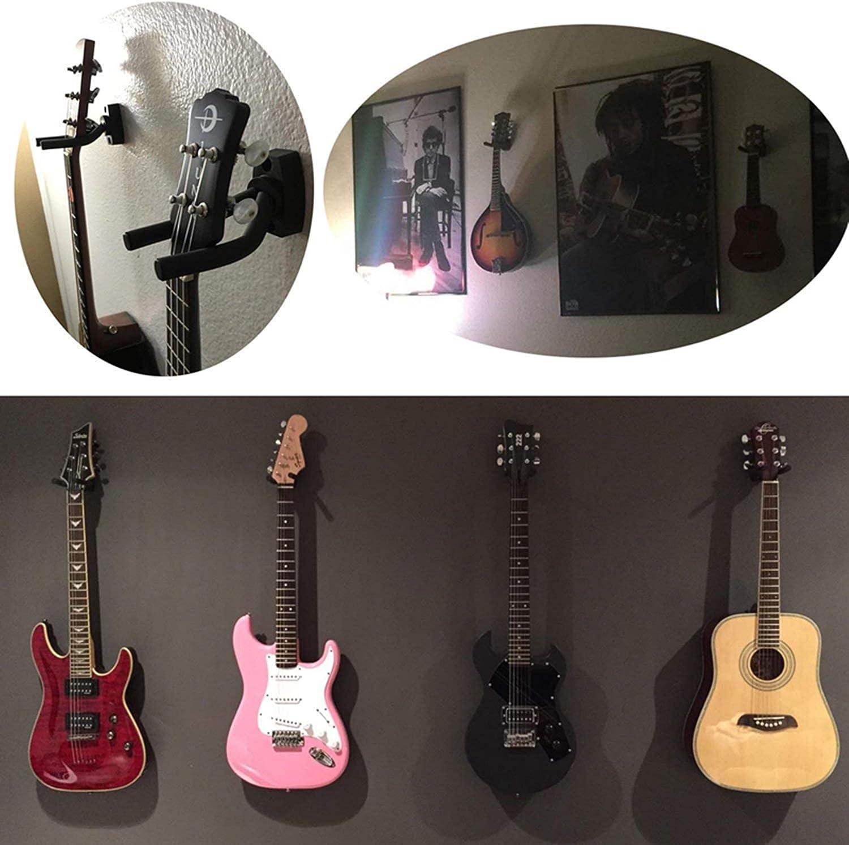 Soporte Pared Guitarra, Colgador de Guitarra Eléctrica Acustica ...