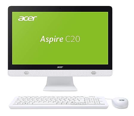 Acer Aspire C20-820 (19,5 Zoll HD+) All-in-One Desktop PC (Intel Pentium J3710, 4 GB RAM, 1000 GB HDD, Intel HD, Win 10 Home)