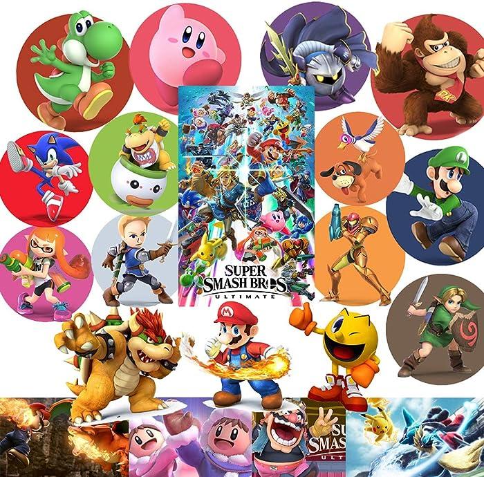 Top 9 Smash Bros Sticker Laptop