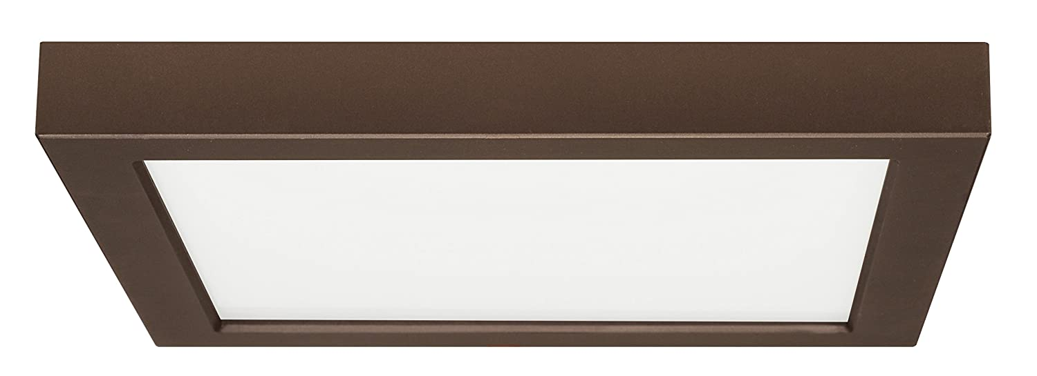 18.5W//9 Bronze Finish 18.5W//9 Nuvo Lighting Satco Products S9342 Blink Flush Mount LED Fixture