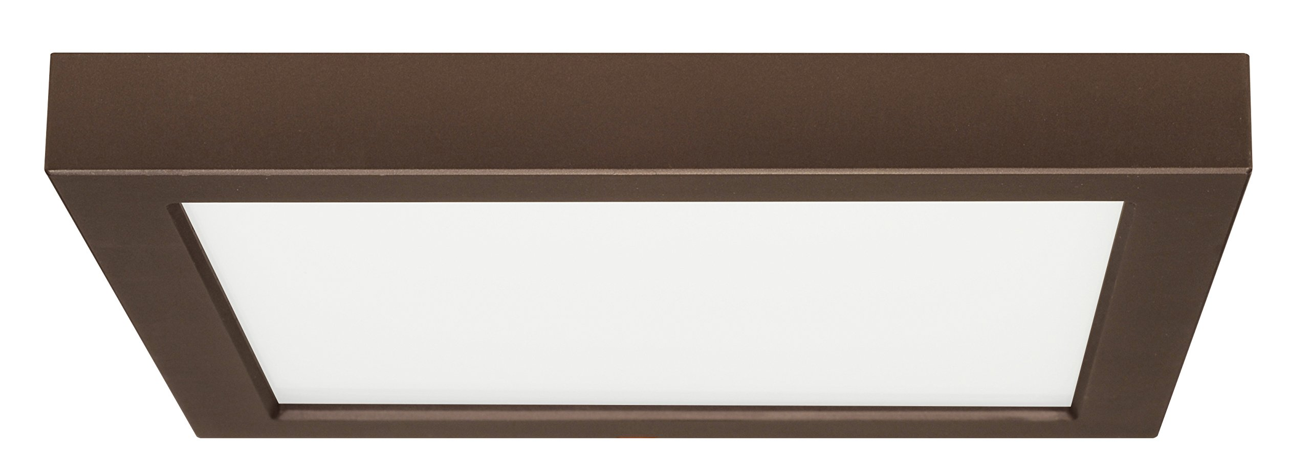Satco Products S9342 Blink Flush Mount LED Fixture, 18.5W/9'', Bronze Finish