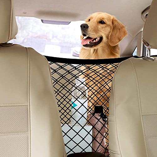 rabbitgoo Dog Car Net Barrier,13.98 15.55