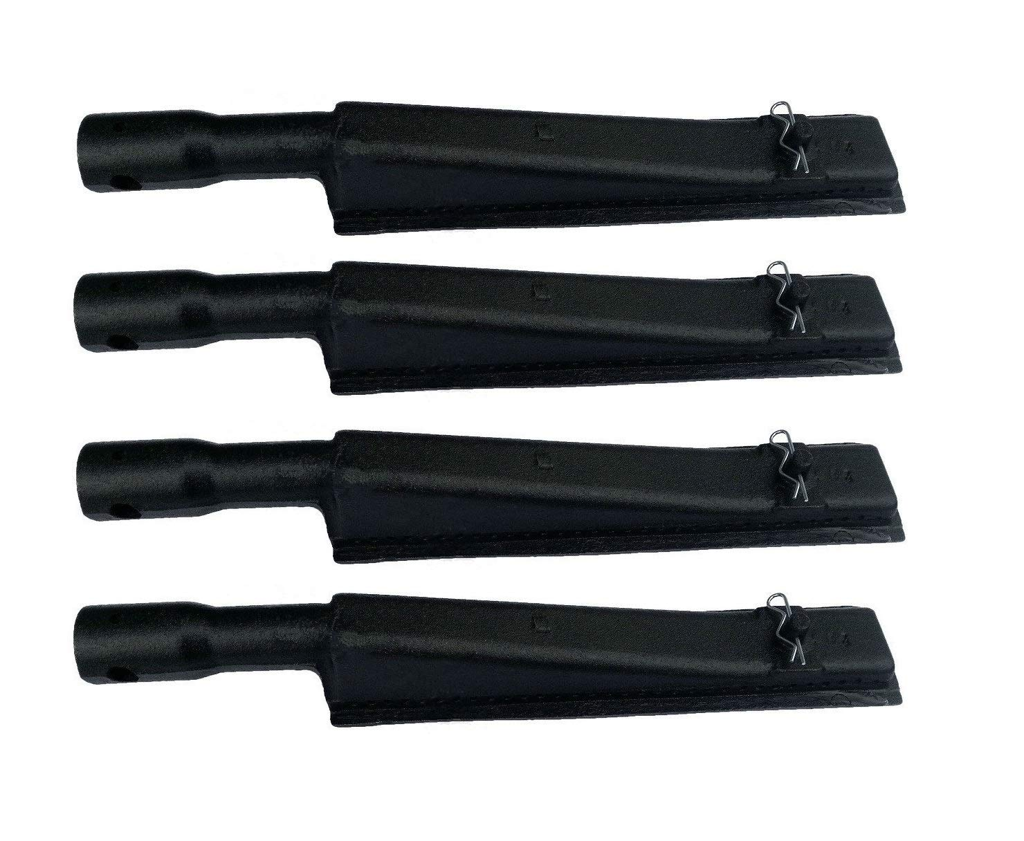 VICOOL hyB935 (4-Pack) Cast Iron Burner for Brinkmann, Kenmore, Grill Zone and Other Grills (12 7/8'' X 2 1/8'')