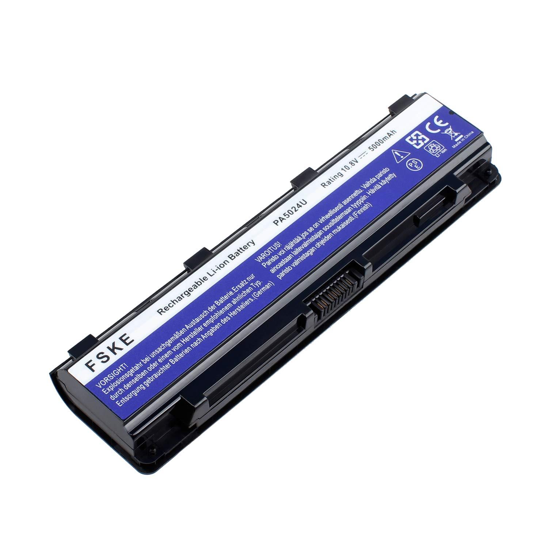 FSKE PA5024U-1BRS PABAS260 Batería para Toshiba Satellite Pro L850 C850 Notebook Battery, 10.8 V 5000mAh 6 Celdas: Amazon.es: Electrónica