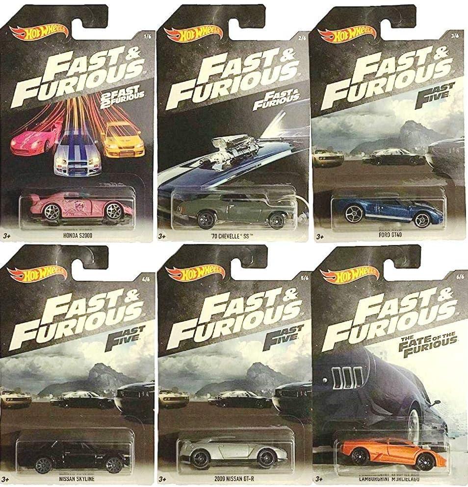 Mattel MT-FKF06 Fast & Furious - Coche, Modelos surtidos, 1 unidad ...