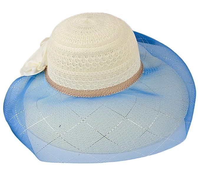 Leisial Hueco Encaje Sombrero de Malla Deporte al Aire Libre ...