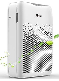 FAMTOP Purificador de Aire para Hogar, Air Purifier 4 en 1(hasta 99.97%) con Filtro HEPA Catalizador Frío, No Ozono, CADR 120m³/h, Captura Polvo, Humo, Caspa de Mascotas: Amazon.es: Hogar