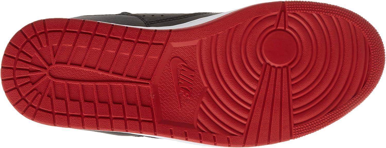 Nike Jordan Access, Chaussure de Basketball Homme Multicolore Black Gym Red White 001