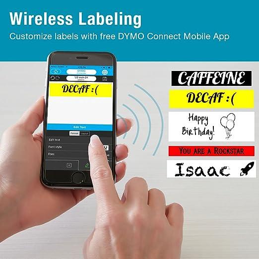 Dymo LabelManager 160 - Etiquetadora de mano Label Maker: Amazon.es: Oficina y papelería
