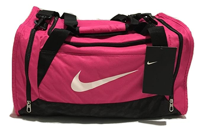 Nike Brasilia Duffel Bag Training Sports Holdall gym Travel Bag Small --  Pink  Amazon.co.uk  Sports   Outdoors ff8a9861bbdc6