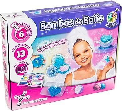 Science4you-5600983608634 Bombas de Baño para Niños +8 ...