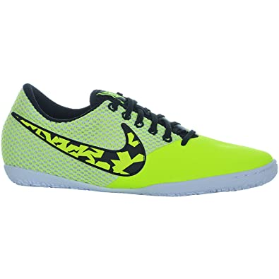 cheap for discount f13fd a497e Nike Kids FC247 Elastico Junior Indoor Football Trainers Volt Black UK 5  (38)  Amazon.co.uk  Shoes   Bags