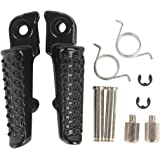 XFMT Black Footrest Motorcycles Foot Pegs For Honda CBR1000RR 2004 2005 06 07 08 09 10 11 12 13 2014 CB1000R 2008-2011 CBR600RR 2003 2004 2005 2006