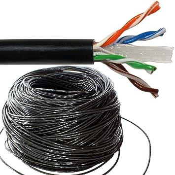 100 M CAT6 Netzwerkkabel Spule für den: Amazon.de: Elektronik