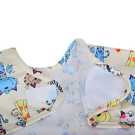 1 sleeved bib Tierswelt Armellatzchen Luxja Baby Lätzchen mit Ärmel