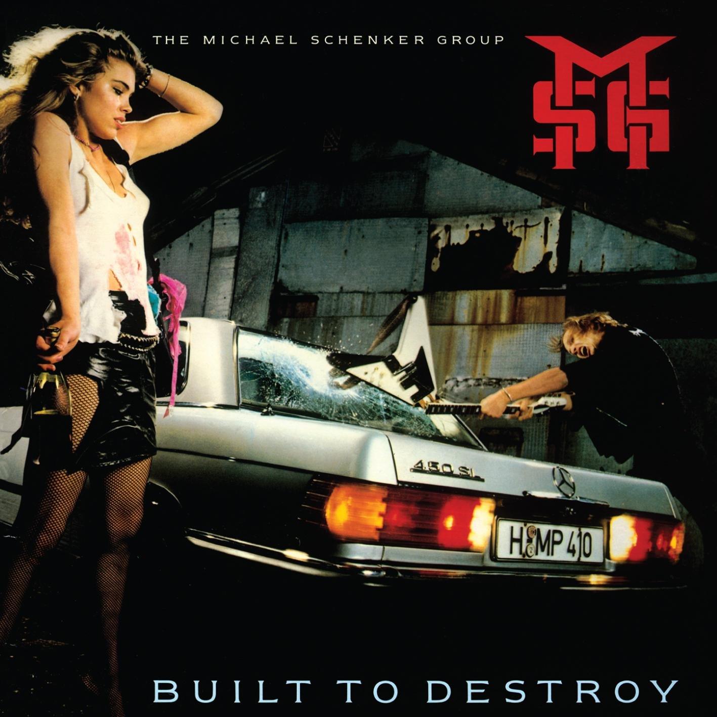 CD : Michael Schenker - Built To Destroy (CD)