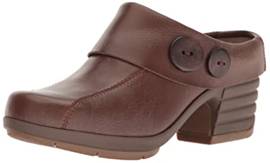 Sanita Women's Icon-Indiana Mule, Brown, 36 EU/5.5/6 M