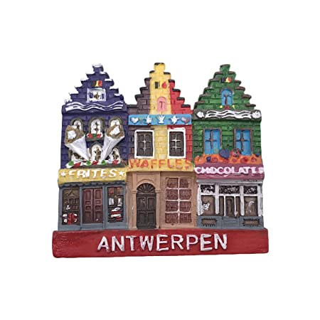 Amberes Bélgica 3D Imán de Refrigerador Recuerdos Turísticos ...