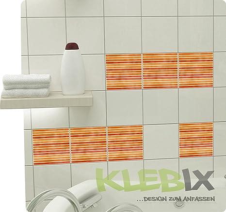 Mosaico Arancione piastrelle adesivo piastrelle immagine finta ...