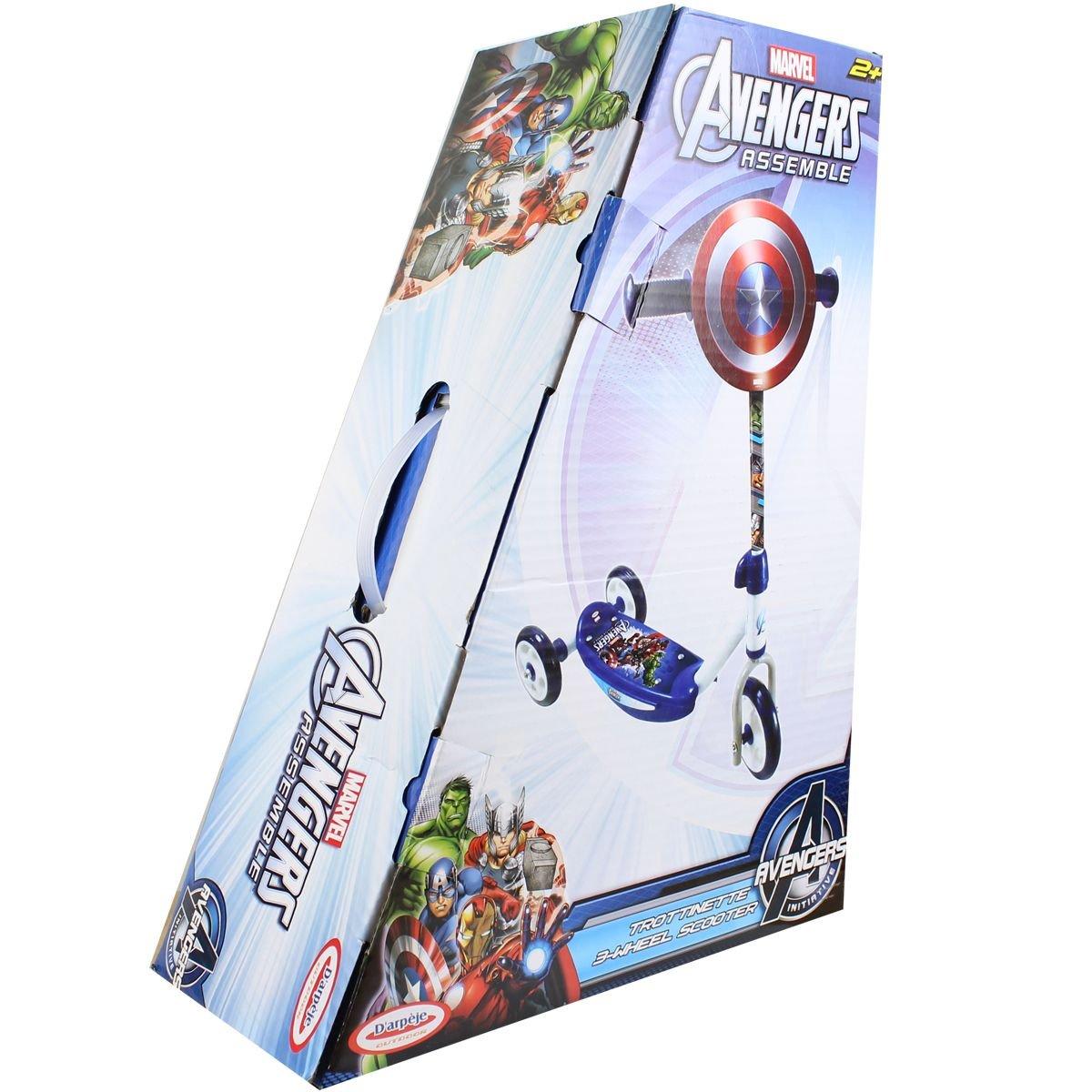 Captain America Scooter Patinete 3 ruedas Niños: Amazon.es ...