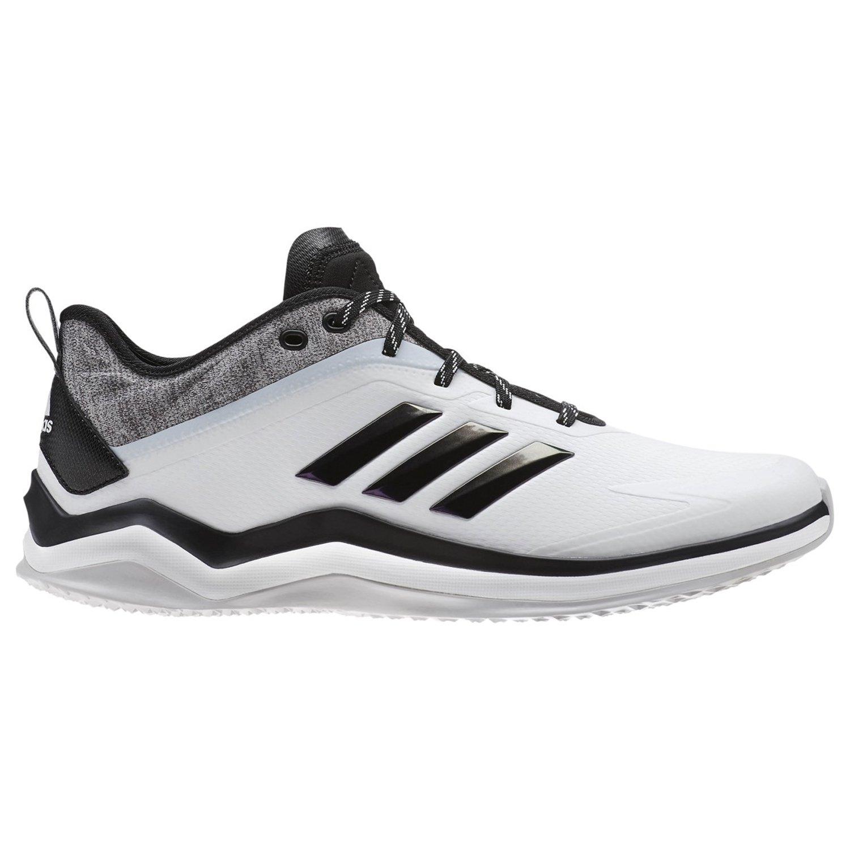 adidas Men's Speed Trainer 4 Baseball Shoe B077X62QGW 10.5 D(M) US|Crystal White/Black/Carbon 1759