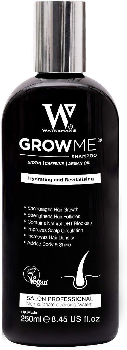 Watermans Rápido Hair Growth champú, Champú anti-caída, Tratamiento del Cabello para Evitar la Caída del Pelo, lujo para Cuidado del Cabello