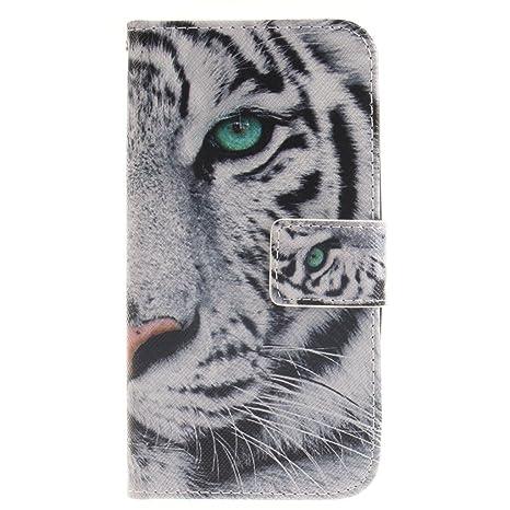 coque samsung j3 2016 tigre blanc