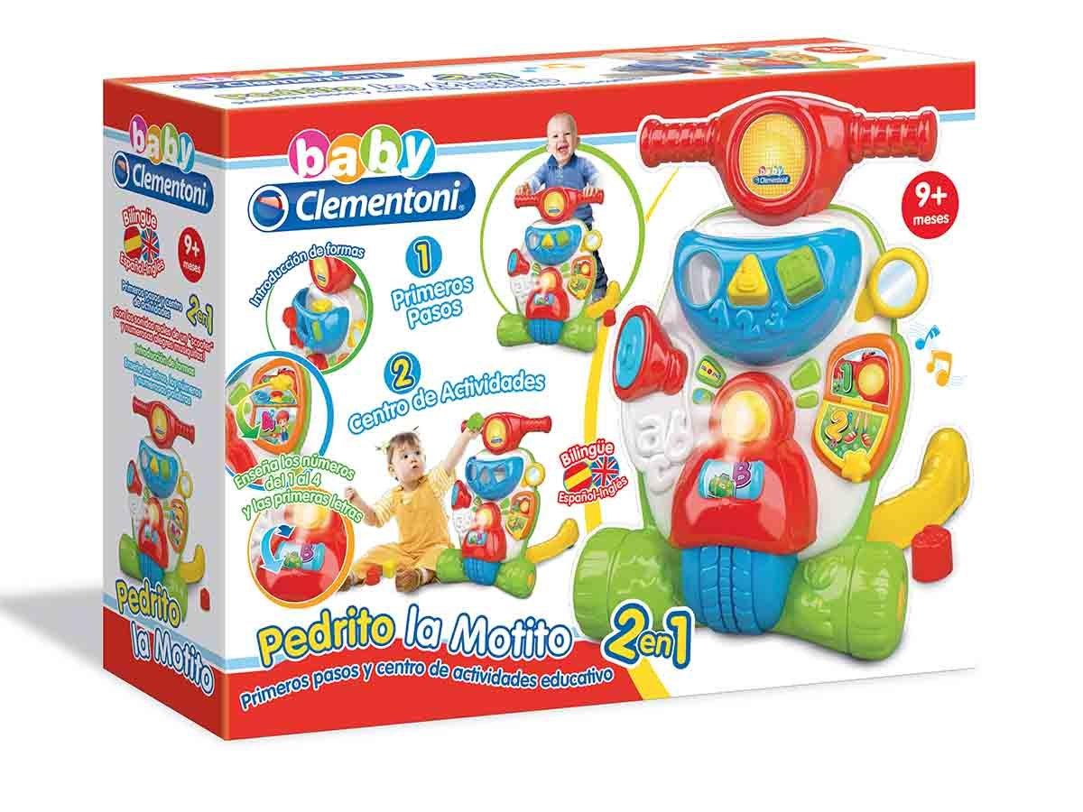 Baby Clementoni - Pedrito, la motito (550470): Amazon.es: Juguetes ...