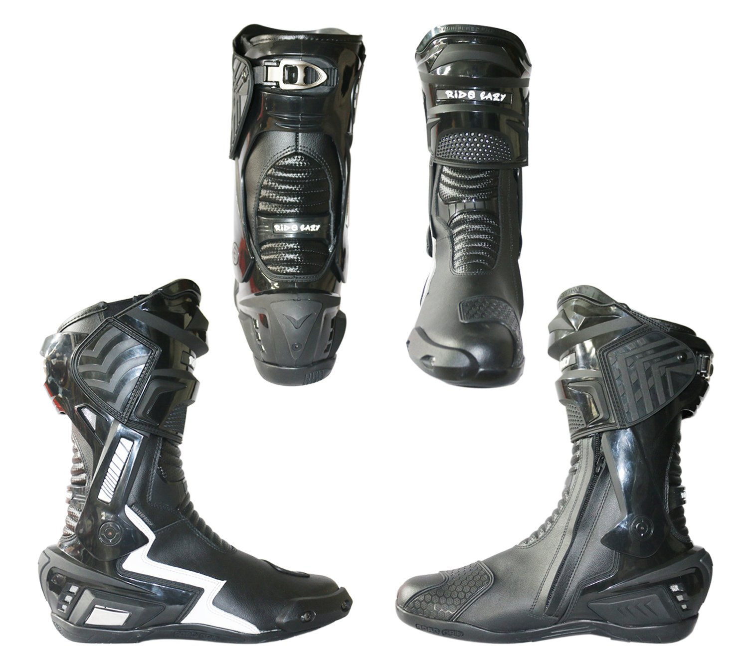 RIDE EAZY Motorcycle Riding boots / Race Boots / sports bike boots