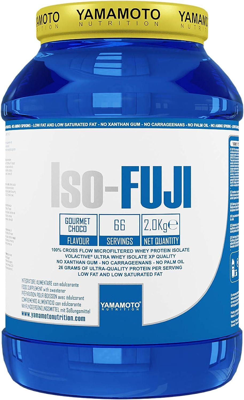 Yamamoto Nutrition Iso-Fuji Aisló Proteínas de Suero de Leche Ultra Filtradas, Sabor a Vainilla - 2000 gr