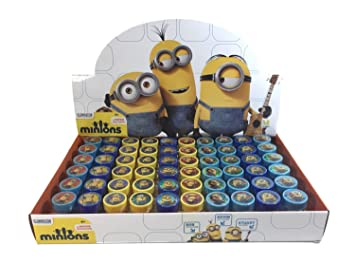 Amazon.com: Despicable Me Minion Self-inking Stamps Birthday Party ...