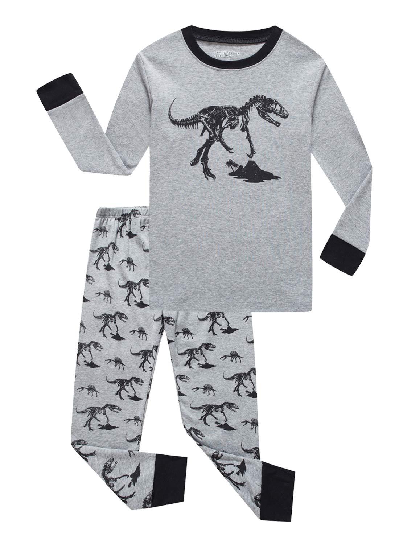 Boys Pajamas Sets for Kids Sleepwear Clothes Top /& Bottom Set Long Sleeve